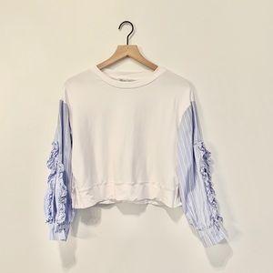 Zara Basic Collection Striped Top